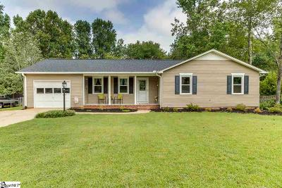 Simpsonville Single Family Home Contingency Contract: 107 Doral