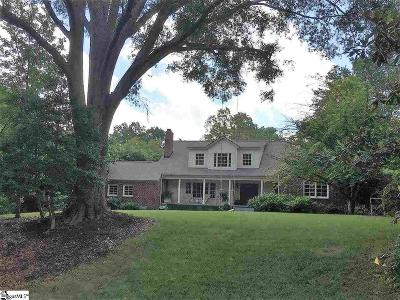 Greenville Single Family Home For Sale: 120 Woodland