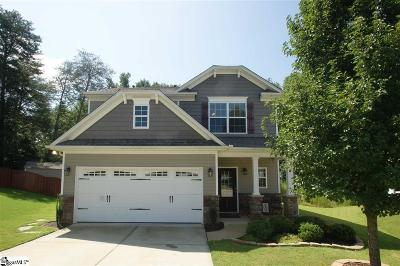 Greenville County Single Family Home Contingency Contract: 116 Stream Crossing