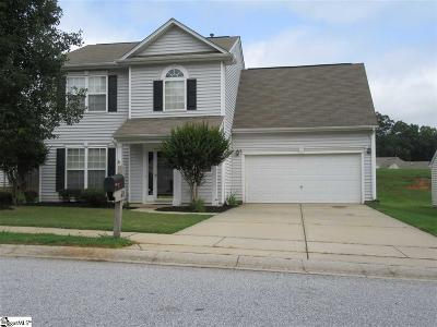 Simpsonville Single Family Home For Sale: 631 Timber Walk