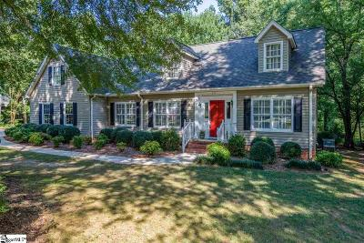 Greenville Single Family Home For Sale: 235 Shannon Lake