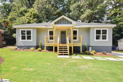 Greenville Single Family Home For Sale: 10 Beechwood