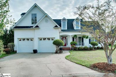 Greer Single Family Home For Sale: 608 Mint