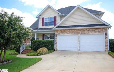 Greenville County Single Family Home For Sale: 603 Yearling