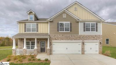 Greer Single Family Home For Sale: 428 Graypointe #Lot 75