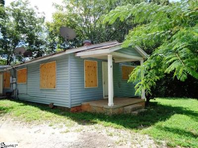 Greenville Single Family Home For Sale: 7 Round Knob