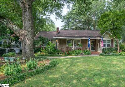 Greenville Single Family Home For Sale: 21 Arcadia