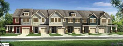 Spartanburg Condo/Townhouse For Sale: 207 Keaton #Lot 16