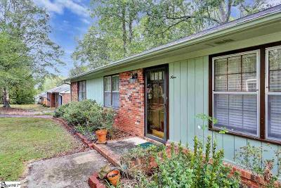 Taylors Single Family Home For Sale: 9 Fairford