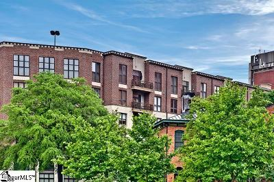 Greenville County Condo/Townhouse Contingency Contract: 112 W Broad #Unit 402