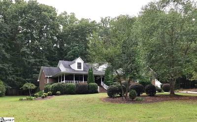 Spartanburg Single Family Home For Sale: 1265 Deerfield