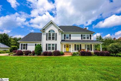 Simpsonville Single Family Home Contingency Contract: 203 Shadow Ridge