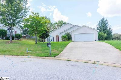 Simpsonville Single Family Home For Sale: 4 Grackle