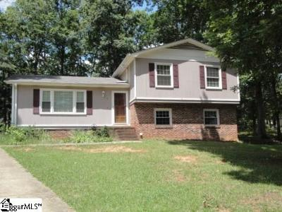 Simpsonville Single Family Home Contingency Contract: 8 Arkrose