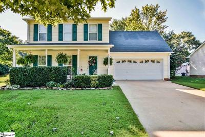 Simpsonville Single Family Home For Sale: 508 Twin Falls