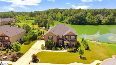 Simpsonville Single Family Home Contingency Contract: 55 Governors Lake