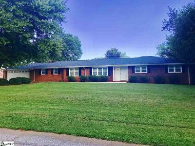 Spartanburg Single Family Home For Sale: 310 Lowndes