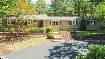 Greenville Single Family Home For Sale: 19 Craigwood