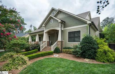 Greenville County Single Family Home For Sale: 501 Townes