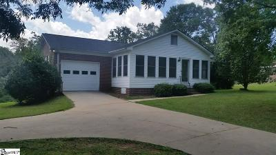 Piedmont Single Family Home For Sale: 103 Ross