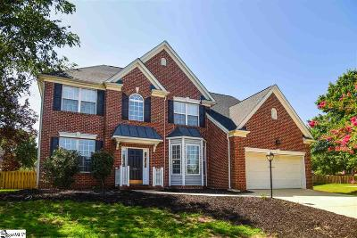 Simpsonville Single Family Home For Sale: 408 Heather Falls