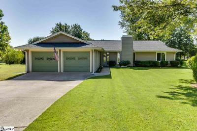 Simpsonville Single Family Home For Sale: 108 Hackamore
