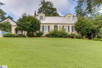 Greenville Single Family Home For Sale: 348 Pine Forest Drive