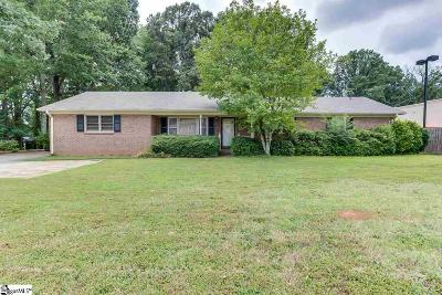 Greer Single Family Home For Sale: 906 S Buncombe