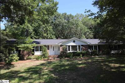 Greenville Single Family Home For Sale: 102 Independence