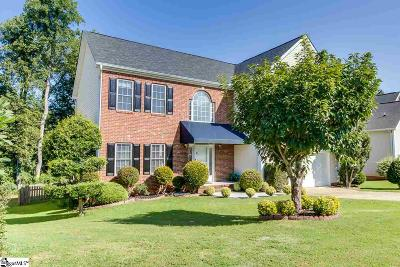 Greenville County Single Family Home For Sale: 100 Bushberry