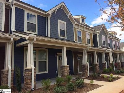 Greer Condo/Townhouse For Sale: 213 Meritage #Lot 15