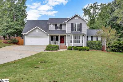 Greenville County Single Family Home For Sale: 512 Summerridge