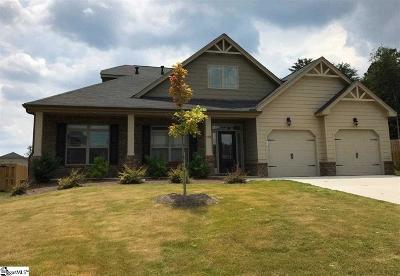 Simpsonville Single Family Home For Sale: 409 Aschoff
