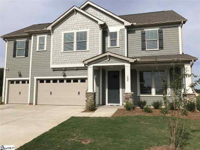 Simpsonville Single Family Home For Sale: 506 Culledon #Lot 133
