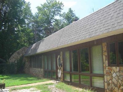 Single Family Home For Sale: 1111 Fork Shoals