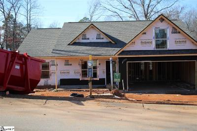 Inman Single Family Home For Sale: 306 Hallie Olivia