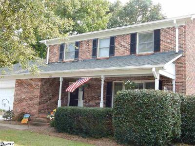 Greer Single Family Home Contingency Contract: 100 Devenger