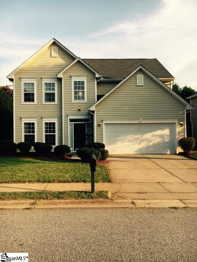 Greenville County Single Family Home For Sale: 1 Stockbridge