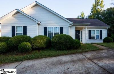 Greenville SC Single Family Home For Sale: $111,300