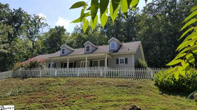 Travelers Rest Single Family Home For Sale: 9227 N Tigerville