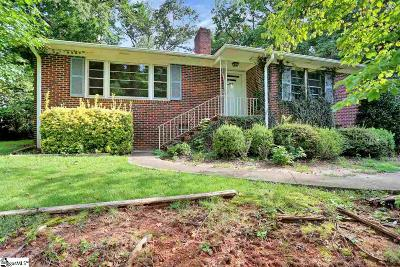 Greenville County Single Family Home For Sale: 127 Hillrose
