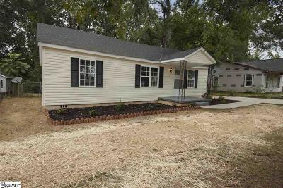 Simpsonville Single Family Home Contingency Contract: 420 Cox