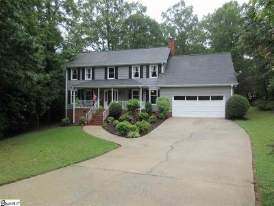 Greenville County Single Family Home For Sale: 103 Aspen