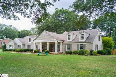 Greenville Single Family Home Contingency Contract: 509 E Seven Oaks