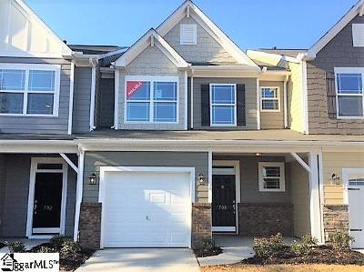 Simpsonville Condo/Townhouse For Sale: 700 Daisy Hill #Lot 77