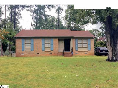 Spartanburg Single Family Home For Sale: 128 Brandywine