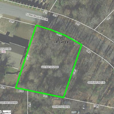 Greer Residential Lots & Land For Sale: 1633 Cunningham