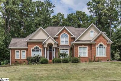 Spartanburg Single Family Home Contingency Contract: 876 Inverness