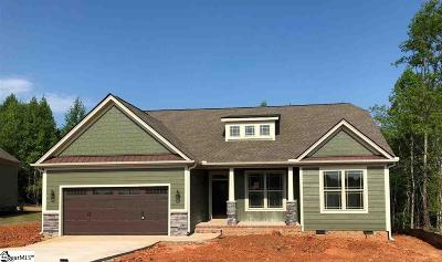 Boiling Springs Single Family Home For Sale: 945 Garnet #Lot 10