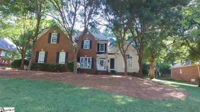 Spartanburg Single Family Home Contingency Contract: 630 Innisbrook